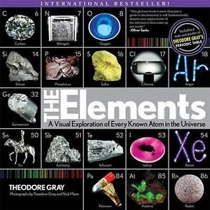 Elements Visual Exploration of Atoms Softcover Book