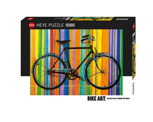 1000pc Jigsaw Puzzle Heye Bike Art Freedom Deluxe