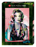 1000pc Jigsaw Puzzle Heye Marilyn Monroe By Johnny Cheuk