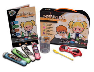 Chemistry Bar Kit 9 Experiments by Heebie Jeebies Science Kit