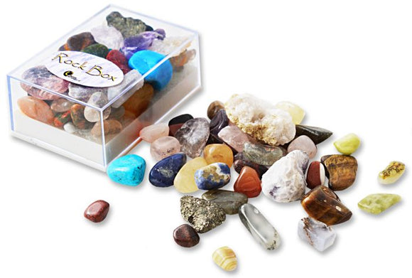 Minerals Rock Box Assorted Large