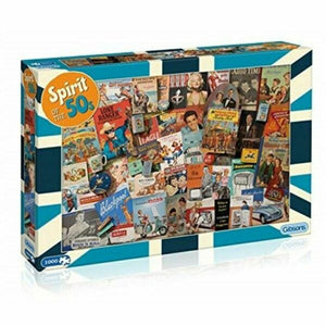 1000pc Jigsaw Puzzle Gibsons Spirit of the 50's