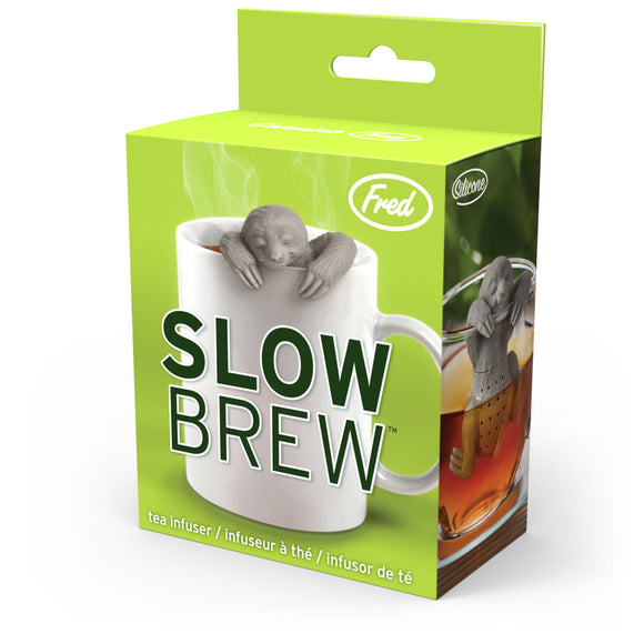 Tea Strainer Infuser Sloth Slow Brew FRED