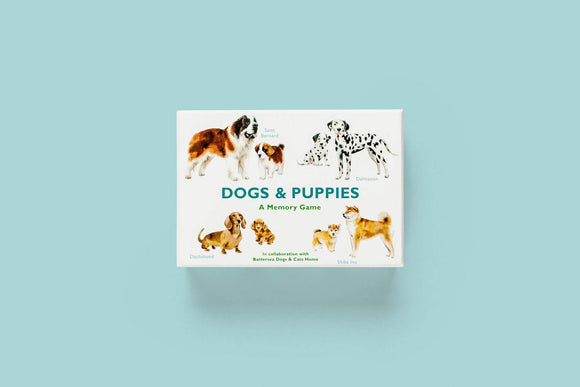 Dogs & Puppies, a Memory Game Match Dogs to Puppies Card Game
