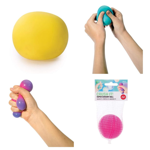 Ball Crush It Squeeze Sensory Colour Changing