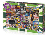 1000pc Jigsaw Puzzle Gibsons Spirit of the 80's