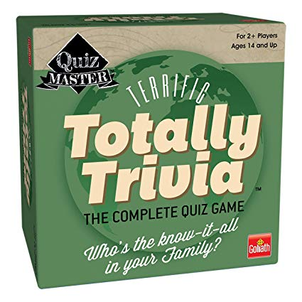 Totally Trivia Quizmaster Family Card Game