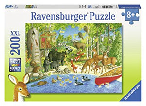 200pc Jigsaw Puzzle Ravensburger Woodland Friends