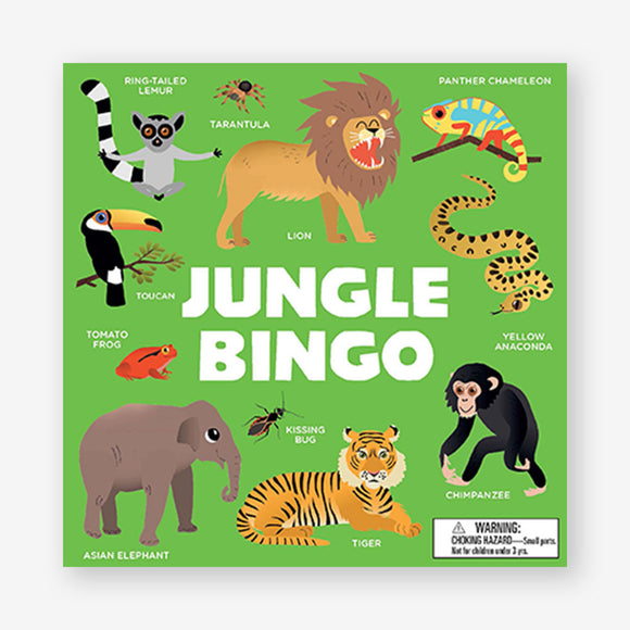 Jungle Bingo Attention and Recognition Board Game