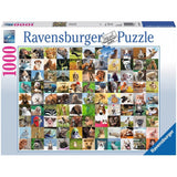 1000pc Jigsaw Puzzle Ravensburger 99 Funny Animals