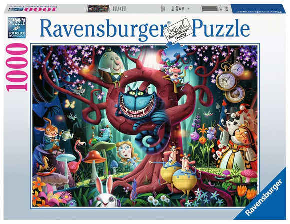 1000pc Jigsaw Puzzle Ravensburger Most Everyone is Mad