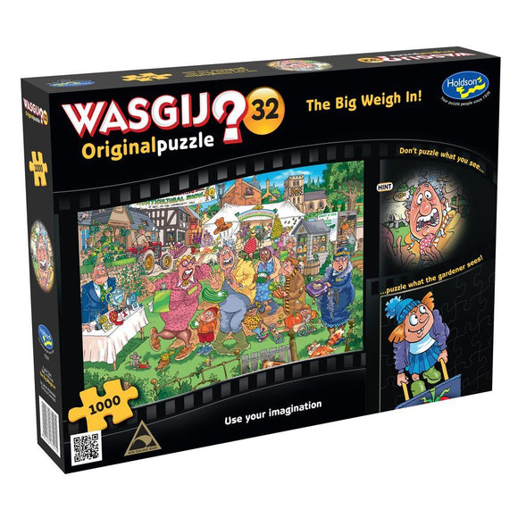 1000pc Jigsaw Puzzle Holdson Wasgij Original 32 The Big Weigh In