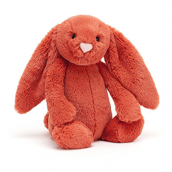 Plush Jellycat Bunny Bashful Cinnamon Rust Medium