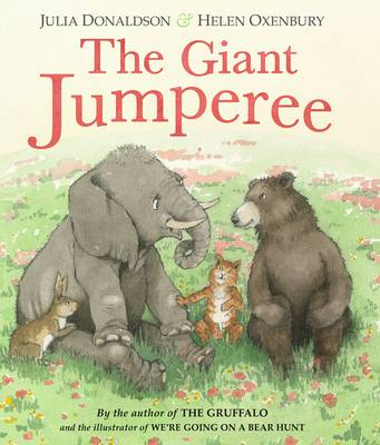The Giant Jumperee By Julia Donaldson and Helen Oxenbury Board Book