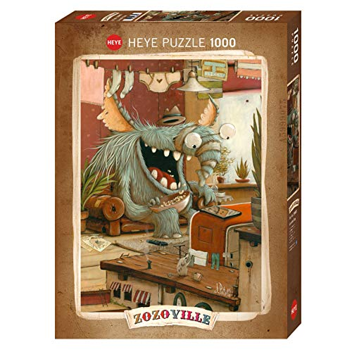 1000pc Jigsaw Puzzle Heye Zozoville Laundry Day
