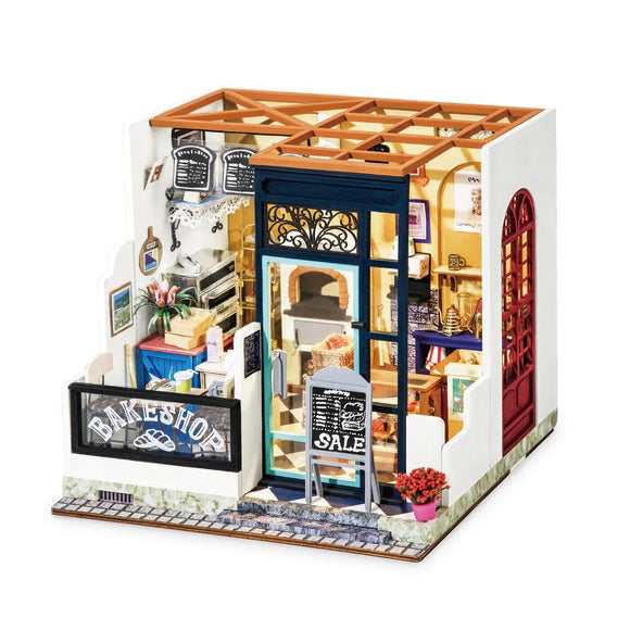 3D Wooden DIY Miniature House Happy Corner Nancy's Bake Shop