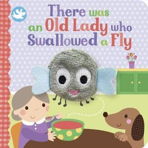 There was an old lady who swallowed a fly Puppet Book