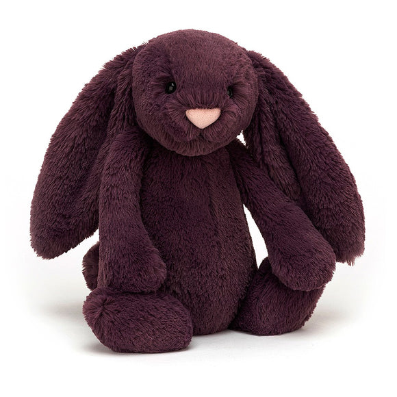 Plush Jellycat Bunny Bashful Plum Medium