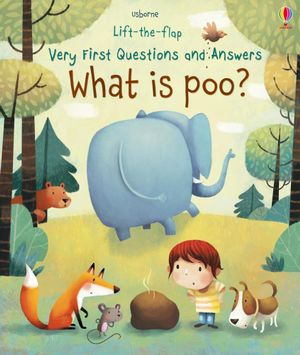 What is Poo? Lift-the-Flap Very First Questions and Answers Usborne Board Book