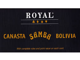 Playing Cards Samba Canasta