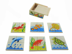 Puzzle Box Sea 4pc
