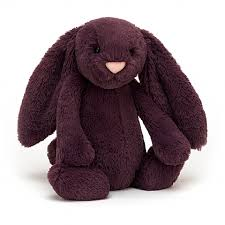 Plush Jellycat Bunny Bashful Plum Small