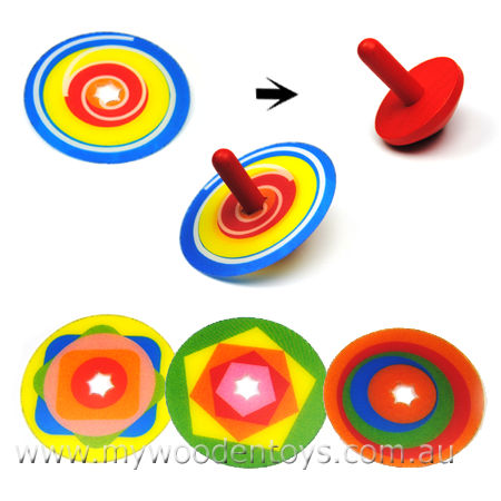 Top Spinning Changeable