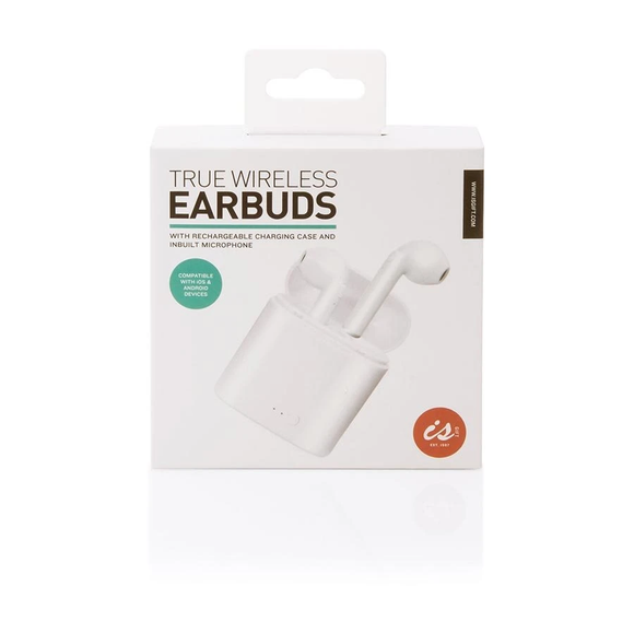 Earbuds True Wireless with Inbuilt Microphone