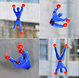 Tumbling Wall Man Sticky Superhero