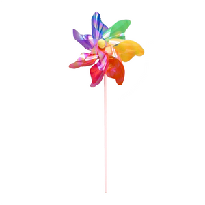 Whirligig Solid Rainbow Wooden