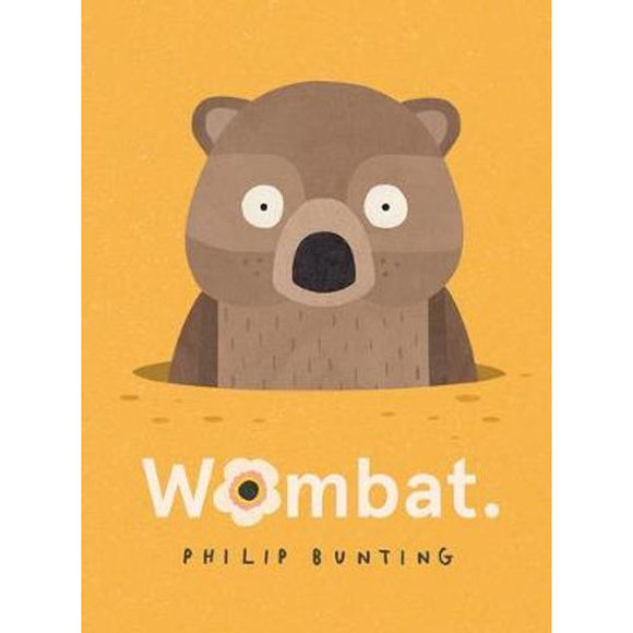 Wombat By Philip Bunting Hardcover Book