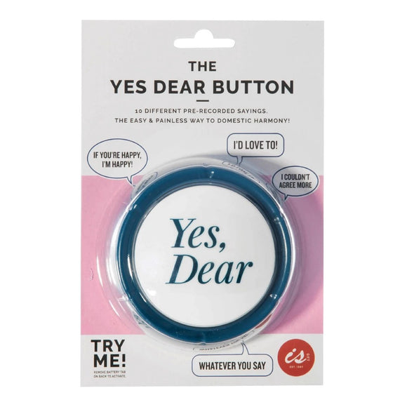 Yes Dear Button
