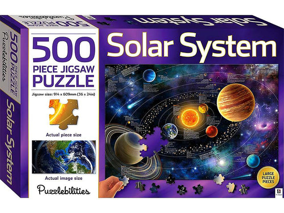 500pc Jigsaw Puzzle Puzzlebilities Solar System