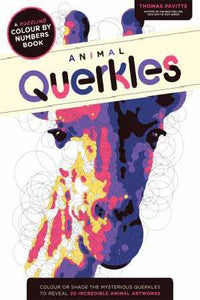 Querkles Animals Colour By Numbers Activity Softcover Book