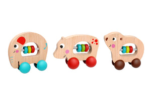 Animal Roller With Beads Assorted