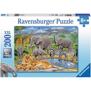 200pc Jigsaw Puzzle Ravensburger Animals In Africa