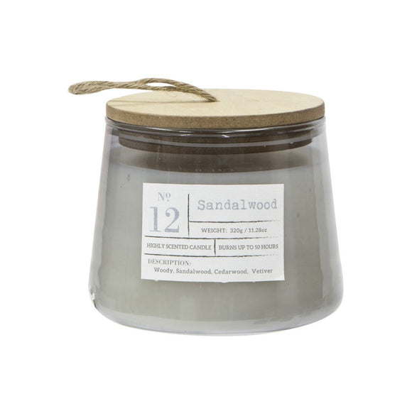 Scented Candle In Jar Sandalwood
