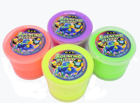 Putty Bouncing Assorted Colours 6cm