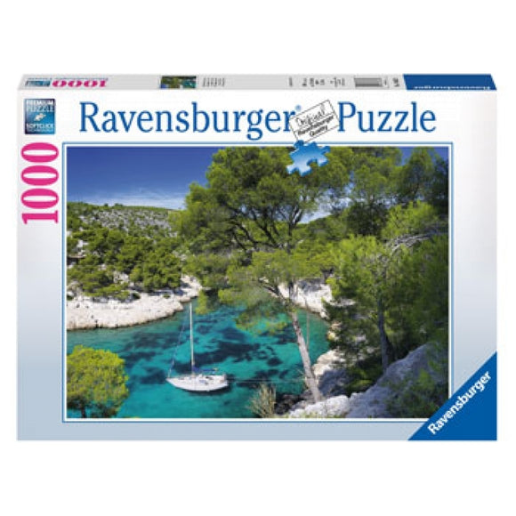 1000pc Jigsaw Puzzle Ravensburger Creeks Of Cassis