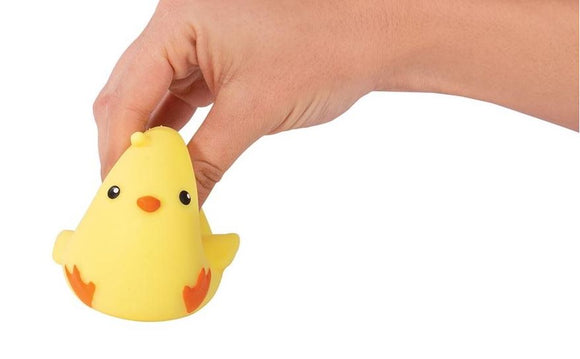Squishy Stretchy Chirpy Chick Sensory Toy