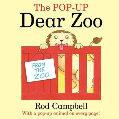 Dear Zoo by Rod Campbell Pop Up Flaps Softcover Book