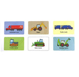 Snap Diggers and Trucks Usborne Card Game