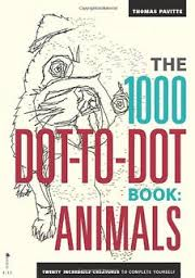 1000 Dot To Dot Animals Activity Book