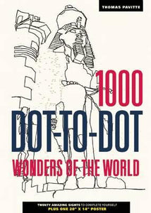 1000 Dot To Dot Wonders Of The World Activity Softcover Book