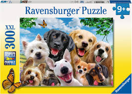 300pc Jigsaw Puzzle Ravensburger Delightful Dogs