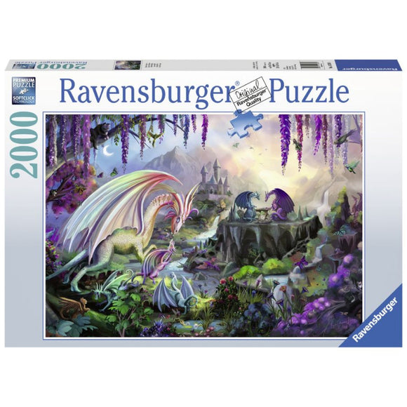 2000pc Jigsaw Puzzle Ravensburger Dragon Valley