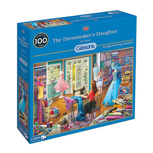 1000pc Jigsaw Puzzle Gibsons The Dressmaker's Daughter