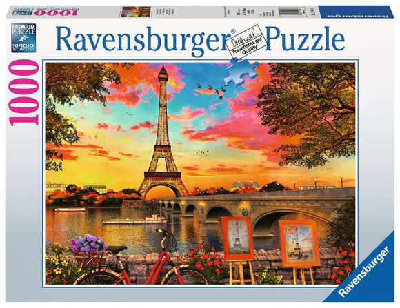 1000pc Jigsaw Puzzle Ravensburger Banks of the River Siene