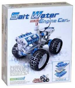 Salt Water Engine Car Fuel Cell Construction Science Kit