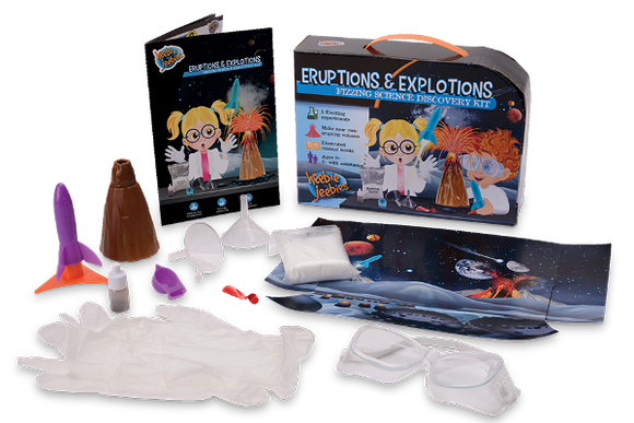 Eruptions and Explosions Science Discovery Kit